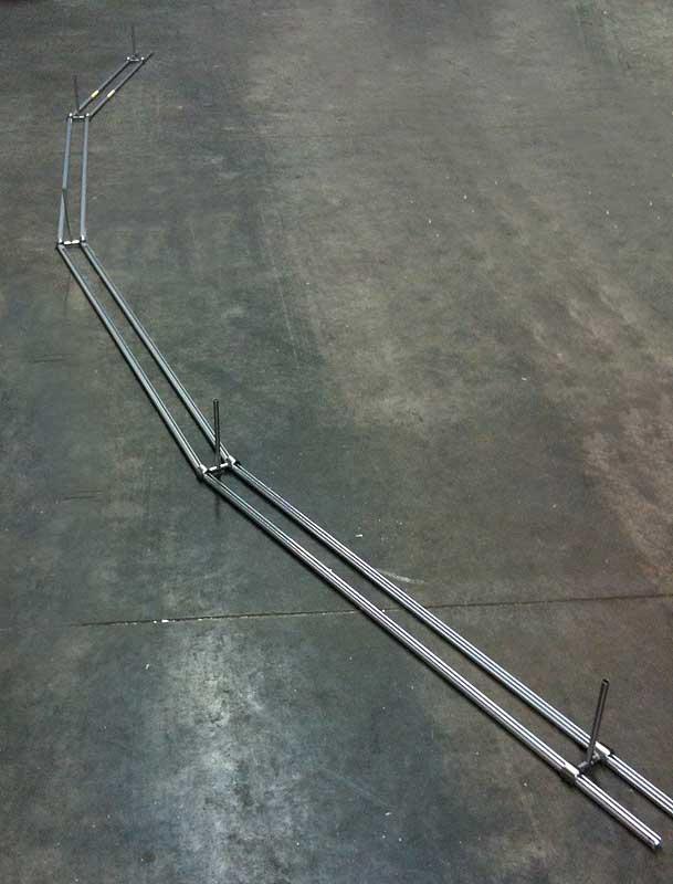 Gebogene Gardinenstangen Mit Rundrohren Oder Innenlauf Profilen Nach