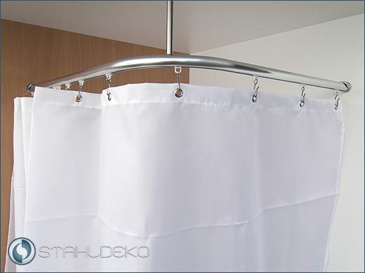 """duschvorhange fur badewannen textil, textil duschvorhang für dusche und badewanne """"plain"""" in 4 farben und, Innenarchitektur"""